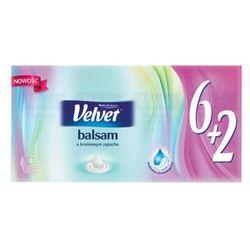Chusteczki higieniczne z balsamem o kremowym zapachu 9x6+2 szt.
