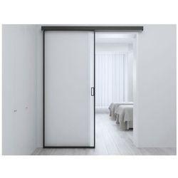 Zlicowane drzwi przesuwne LINCI – 205 × 83 cm (wys. × szer.) – szkło hartowane