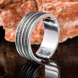 Pierścień wikingów srebro Ag 925 SBR365