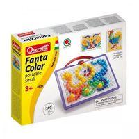 Kreatywne dla dzieci, Fantacolor - mozaika, 160 gwoździków - Quercetti, QUERCETTI