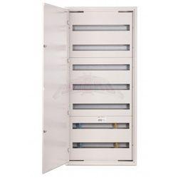 Rozdzielnica modułowa natynkowa 168 modułów IP30 550x1205x132 Biała z zamkiem NRPSM 168 7X24 Z