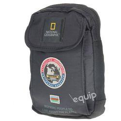 Saszetka z karabińczykiem National Geographic Explorer - czarny