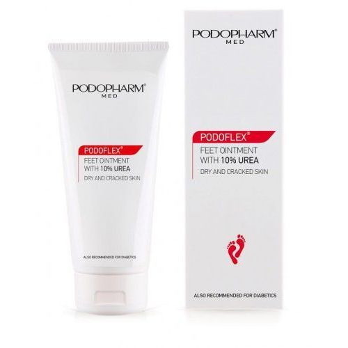 Pozostałe kosmetyki do dłoni i stóp, PODOFLEX® Maść do stóp z mocznikiem 10% Podopharm 75 ml