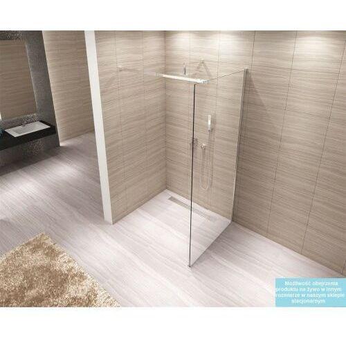 Ścianki prysznicowe, AERO Ścianka Walk-In 100x195, szkło transparentne + powłoka Easy Clean