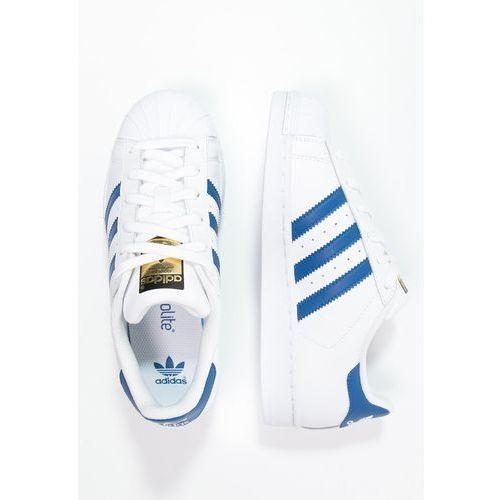 Obuwie sportowe dla dzieci, adidas Originals SUPERSTAR FOUNDATION Tenisówki i Trampki white/blue