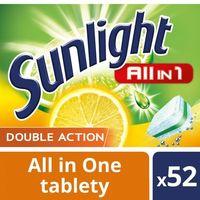 Kostki do zmywarek, Unilever SUNLIGHT Tabletki do zmywarki (668821) Darmowy odbiór w 20 miastach!
