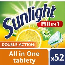 Unilever SUNLIGHT Tabletki do zmywarki (668821) Darmowy odbiór w 20 miastach!