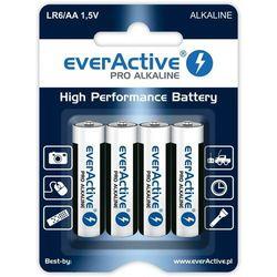 Baterie paluszki AA LR6 everActive Pro Alkaline 4 sztuki alkaliczne (blister)