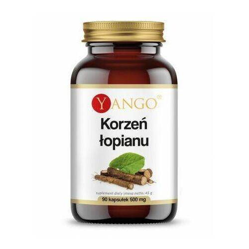 Leki na zgagę, Yango, Korzeń łopianu ekstrakt, 90 kaps