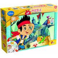 Puzzle, Puzzle dwustronne 108 Jake i Piraci z Nibylandii