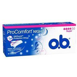 OB PROCOMFORT NIGHT SUPER x 16 tamponów