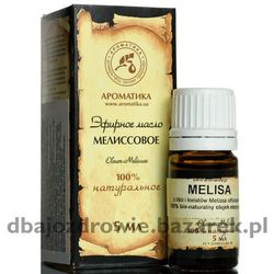 Olejek Melisowy (Melisa), 100% Naturalny, 5 ml