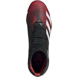 Buty piłkarskie adidas Predator 20.3 TF czarno-czerwone EF2208