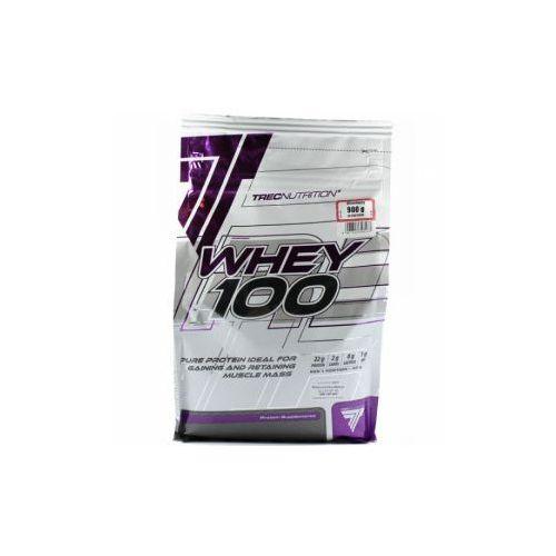 Odżywki białkowe, TREC Whey 100 - 900g - Vanilla