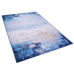 Dywan niebieski 140 x 200 cm krótkowłosy INEGOL