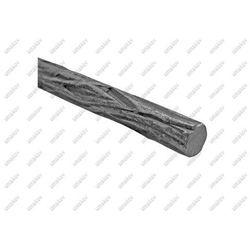 Tralka zdobiona D8, L3000mm, 0,42 kg/m