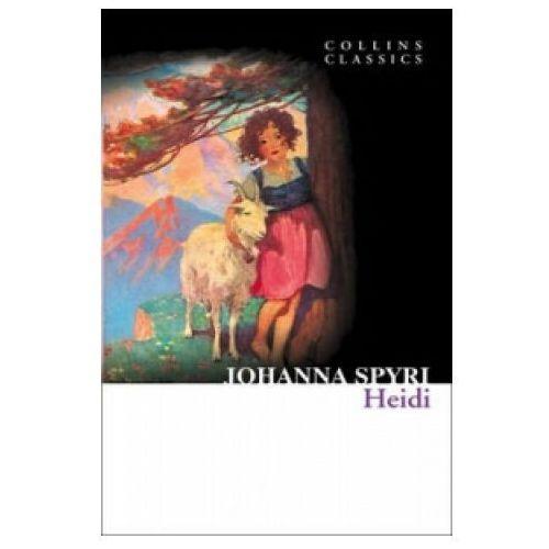 Książki do nauki języka, Johanna Spyri - Heidi (opr. miękka)