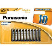 Baterie, Bateria PANASONIC Alkaline Power LR-03/AAA (10 szt.)