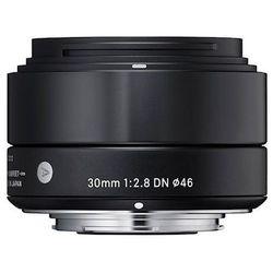 Obiektyw SIGMA A 30/2.8 DN Sony-E Czarny + Zamów z DOSTAWĄ JUTRO! + DARMOWY TRANSPORT!
