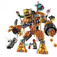 Klocki dla dzieci, 76128 BITWA Z MOLTEN MANEM (Molten Man Battle )- KLOCKI LEGO SUPER HEROES