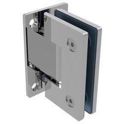 Zawias do drzwi szklanych +/- 90 stopni AISI304, T
