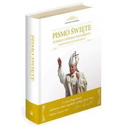 Biblia z komentarzami Jana Pawła II / Obwoluta biała M (opr. twarda)