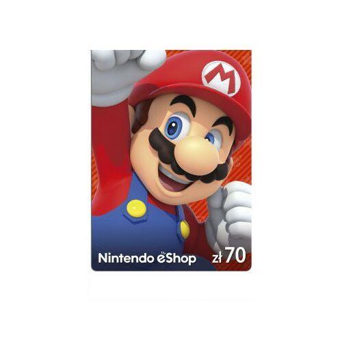 Klucze i karty pre-paid, Kod podarunkowy Nintendo 70zł