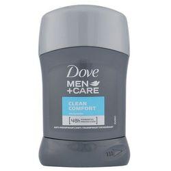 Dezodorant Dove Men plus Care Clean Comfort Antyperspirant w sztyfcie 50 ml