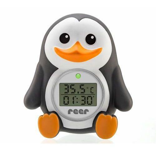 Pozostałe przybory do higieny dzieci, Termometr kąpielowy dla dzieci 2w1 minutnik REER