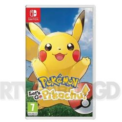 Gra Nintendo Switch Pokémon Let's Go Pikachu!