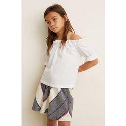 Mango Kids - Spódnica dziecięca Lori 104-164 cm