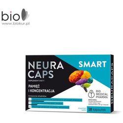 NeuraCaps SMART 10 kapsułek - suplement diety, wspomaga pamięć i koncentracje