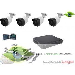 Zestaw do monitoringu 4w1 1080P Longse XVRALBM24HTC200F42