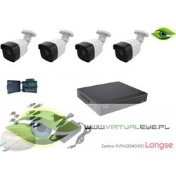 Zestaw do monitoringu AHD 1080P Longse XVRALBM24HTC200F42