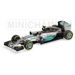 Mercedes AMG Petronas F1 Team W06 Hybrid #44 Lewis Hamilton Winner Belgian GP 2015