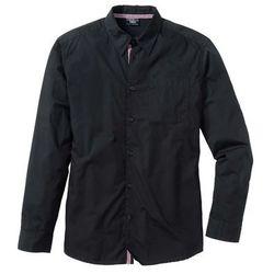Koszula z długim rękawem Regular Fit bonprix czarny