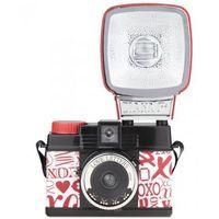 """Aparaty analogowe, Lomography Diana Mini """"Love Letters Edition' aparat fotograficzny na film typ 135"""