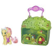 Figurki i postacie, My little Pony Kucykowe opowieści z domkiem - Hasbro
