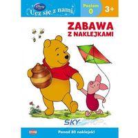 Książki dla dzieci, Disney Ucz się z nami. Kubuś i przyjaciele. Zabawa z naklejkami UDS6 (opr. miękka)