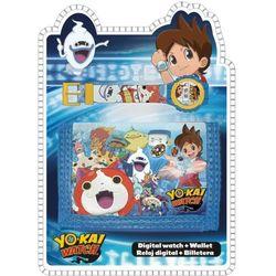 Zegarek na rękę + portfel Yo-Kai Watch