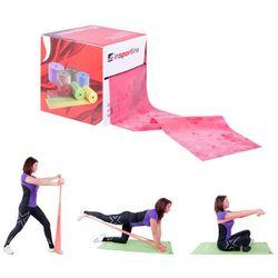Taśma treningowa do ćwiczeń fitness inSPORTline 45 Medium