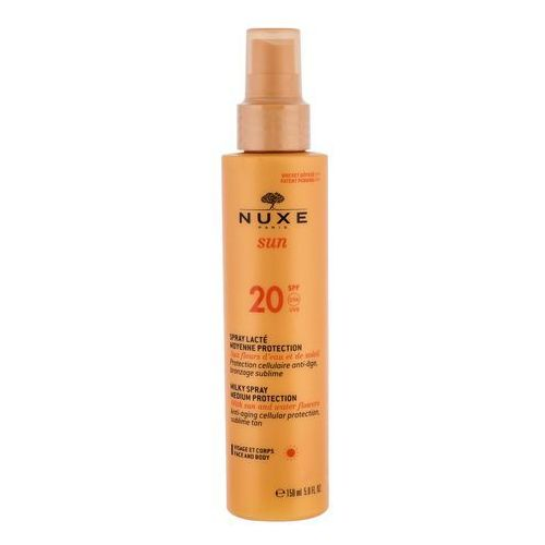 Kosmetyki do opalania, Nuxe Sun spray do opalania SPF 20 (Anti-Aging Cellular Protection) 150 ml