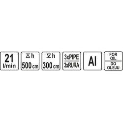 Pompa ręczna do oleju / YT-07115 / YATO - ZYSKAJ RABAT 30 ZŁ