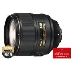 Nikon Nikkor AF-S 105mm f/1.4E ED- Cash Back 1300zł od 1.11.2018 do 15.01.2019