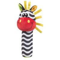 Pozostałe zabawki dla najmłodszych, PLAYGRO Chwytak-piszczałka Zebra