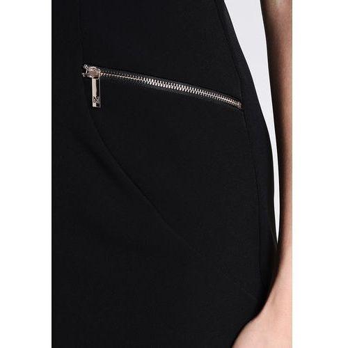 Suknie i sukienki, MARCIANO LOS ANGELES SLEEVELESS ZIPPER Sukienka koktajlowa jet black
