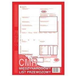 Druk CMR międzynarodowy list przewozowy A4 (o+4k) 80 kartek Michalczyk i Prokop 800-2