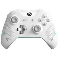 Gamepady, Microsoft Xbox One Kontroler bezprzewodowy Sports (biały)