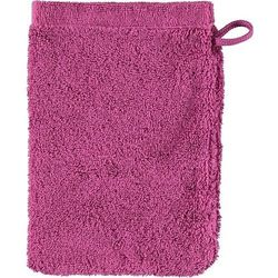 Rękawica kąpielowa lifestyle sport gładka 16 x 22 cm purpurowa