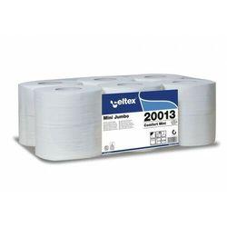 Papier toaletowy Jumbo CELTEX 130m, 100% celuloza, 2-w, 725l, 12 rolek